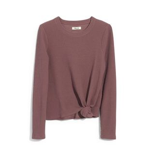 Madewell Tops - Madewell texture & thread knot front jacquard top